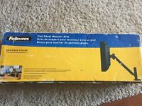 Fellowes flat panel monitor arm