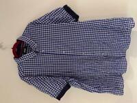 Men's Jacamo blue checkered shirt 3XL for sale  St Peter Port