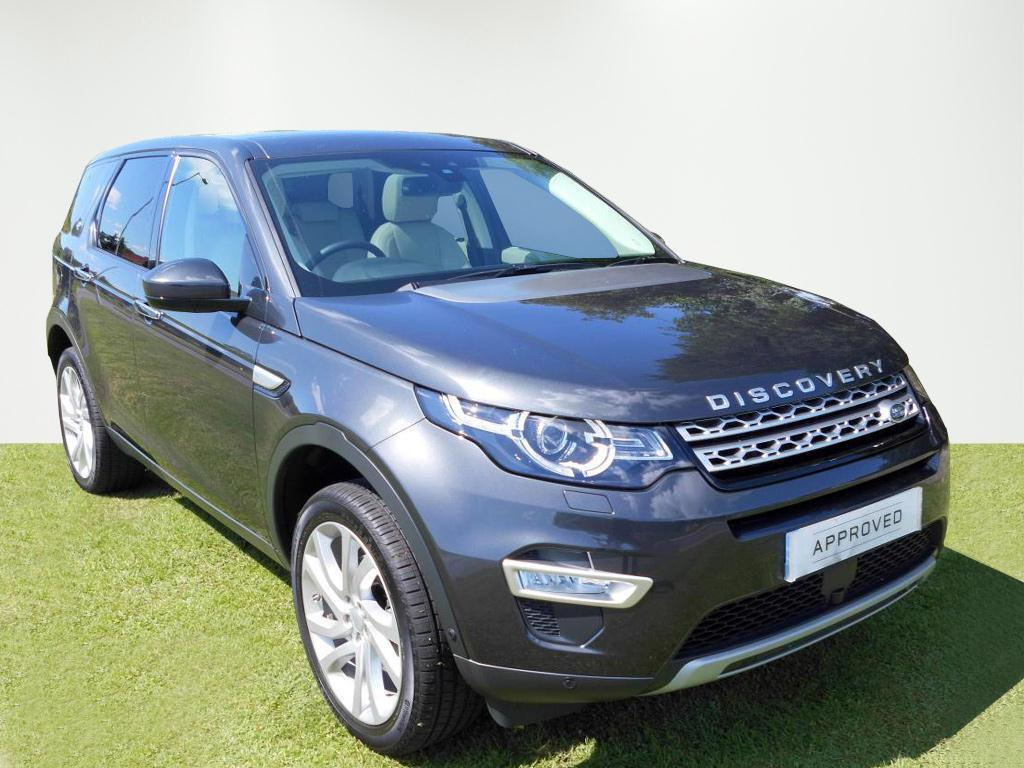 Land Rover Discovery Sport TD4 HSE LUXURY (grey) 2016-09-22