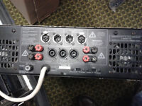 C-AUDIO 1200 watt Power Amplifier--very loud