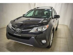 2014 Toyota RAV4 Limited, AWD, Navigation, Cuir, Toit, Roues en