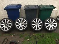 "Vw golf,Audi A3,seat Leon,19"" rs4 alloys,£120,no offers"