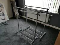 X2 clothes rails