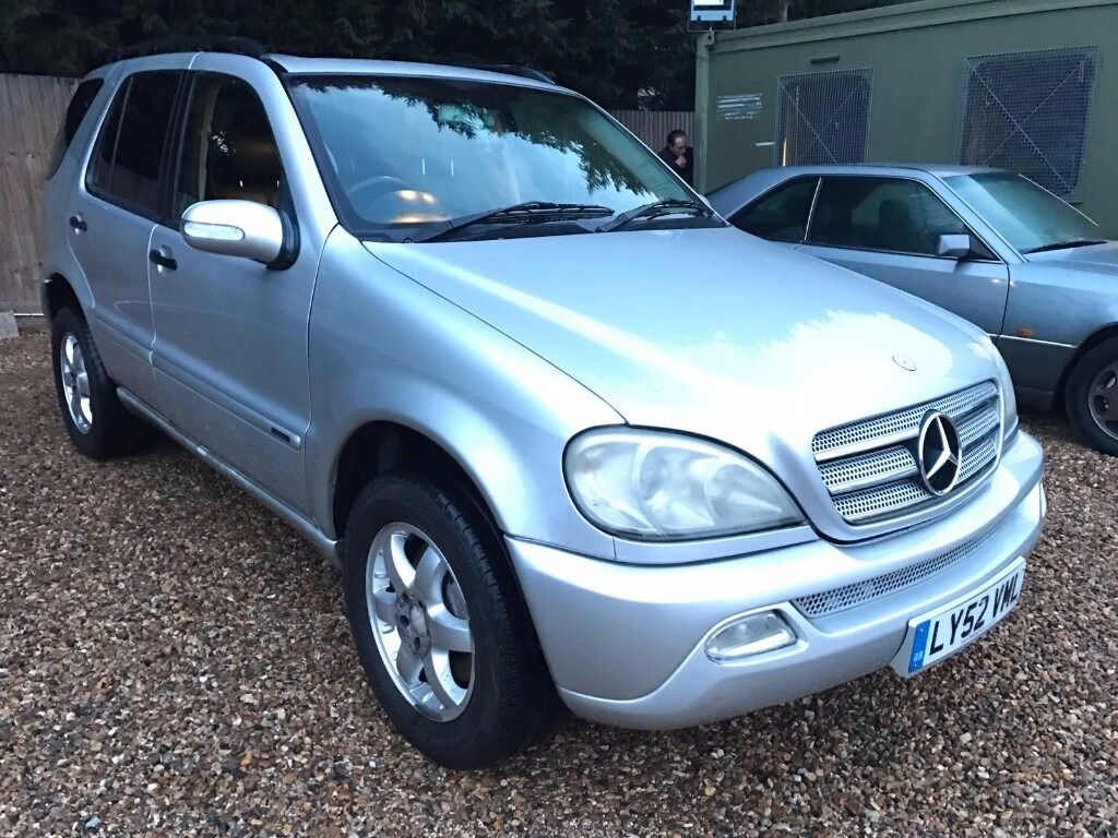 2003 Mercedes Ml270 Cdi Diesel Automatic Fully Loaded Full Leather