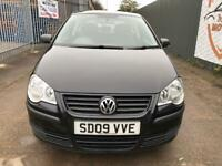 VW POLO 1.2 E 60 3 DOOR HATCH 2009 ONE OWNER CAR