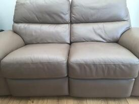 Recliner couches x2 (2seaters)