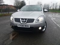 NISSAN QASHQIA 2.0 TEKNA (Silver) Excellent to Perfect drive, condition, handling. With history