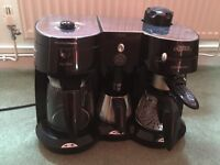 Morphy Richards Coffee & Espresso Machine with milk brother