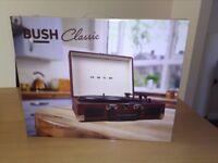 BUSH Classic portable turntable