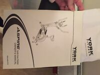 York fitness aspire cycle cross trainer