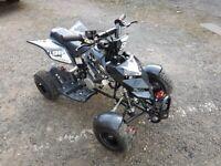 FunBikes Kids Mini 49cc Petrol Quad Bike - Black