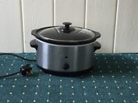 SLOW COOKER 3 LITRE stainless steel