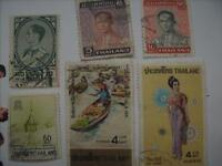 Selling My Stamp Collection, Thailand Lot