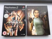 Tomb Raider Anniversary Collector's Edition PS2 MINT