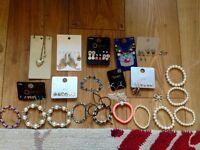 40 items of kids jewellery.