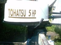 OUTBOARD MOTOR TOHATSU 5 HP STANDARD SHAFT