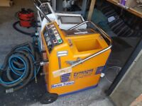 carpet cleaning machine plus one for spares .plus hose no wand or hand tool