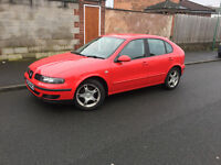 2004*SEAT LEON SE 1.8 20V*SERVICE HISTORY*CAMBELT CHANGED*AIR CON*5 MONTHS MOT