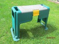 garden stool and knealer