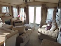 Top of the Range Luxury Caravan with Direct Beach Access on North Wales Coast !!