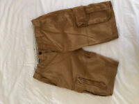 FAT FACE MEN'S BREAKYARD KAKHI CARGO SHORTS