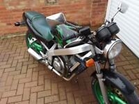 Bross 400 motorbike for sale. No mot