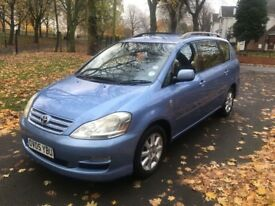 2005 TOYOTA AVENSIS VERSO T-SPIRIT D-4D 2.0 DIESEL 7 SEATER MPV **DRIVES VERY GOOD + SPACIOUS**