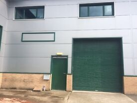 WAREHOUSE/OFFICE SPACE FOR SHORT TERM LEASE