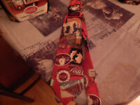 COCA COLA XMAS TIES FRESH FROM CANADA IDEAL FOR XMAS PARTY