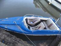 Speedboat 14ft Shakespeare