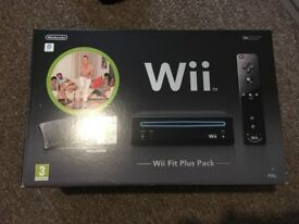 Wii Fit Plus Pack - includes balance board boxed