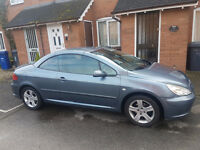 SWAP FOR LEFT HAND DRIVE OR MOTOBIKE PEUGEOT 307 cc Cabrio