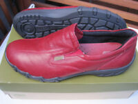 Hotter Red Shoes. Unworn Very comfortable. Size 5.5. EXF RED LEATHER. with original box