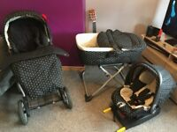 Baby to toddler travel system