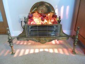 VINTAGE/RETRO 2 BAR ELECTRIC FIRE