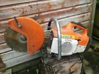Stihl TS 400 roadsaw quicksaw