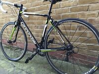 Mint condition cannonade Synapse Alloy Sora 7 Road Bike upgraded with mavic wheels