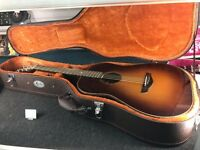 Faith Mars Acoustic Guitar in Coffee Burst with Case *Excellent Condition*