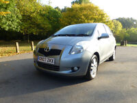 Toyota Yaris 1.3 VVT-i TR 5dr 1 former keeper service history long MOT Excellent condition