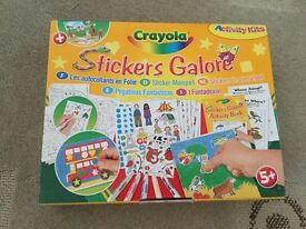 Crayola Stickers Galore New 350+ stickers