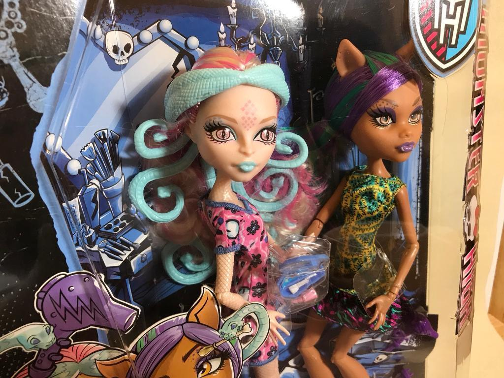 Monster High Scare And Makeup Brand New
