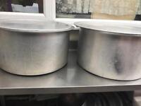 Large cooking pots Indian tandoori