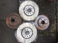 Astra vxr new drilled n vented discs. Rocker cover and battery cover