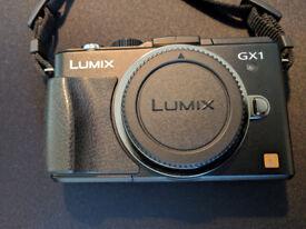 Panasonic DMC-GX1 Camera body + Extras