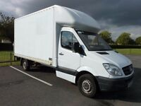 LOCAL MAN AND VAN SERVICES Large Luton Van for Hire Collections Deliveries Removals Covering Salford