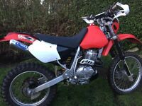 Honda XR400-road registered,full mot,new tyres and service