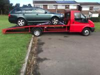 2006 Ford transit beaver tail recovery truck 2.4 mk6 with mk7 front end