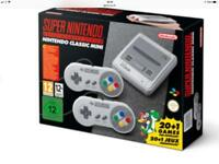 Snes mini Nintendo new sealed rare