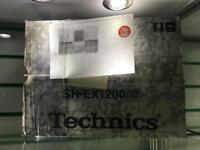 Brand new in the box!!!! Technics Mixer SH-EX1200