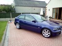 BMW 3 SERIES 318 Ti COMPACT LIMITED EDITION - FULL YEARS MOT - STUNNING CONDITION - PRIVATE PLATE